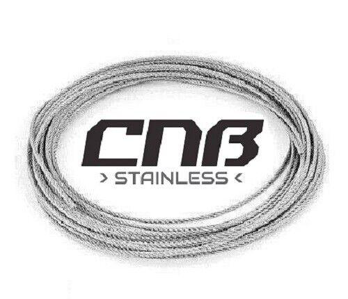 4 Mm Câble Métallique En Acier Inoxydable A4 Marine Grade 7x19 DIN3060