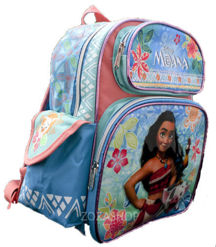 "Moana Small Backpack 12/"" /& Lunch bag 2 pc set Insulted Bag Girl School Bag"