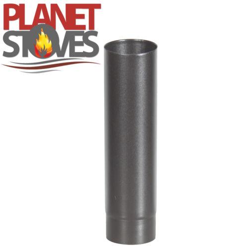 "Stove Pipe 4/"" 5/"" 6/"" 500mm Vitreous Multifuel Enamelled Flue"