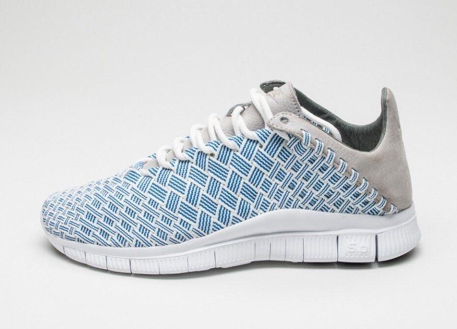 Nike Free Inneva woven fountain Blue/granite/summit White 12   AUTHENTIC SALE!!
