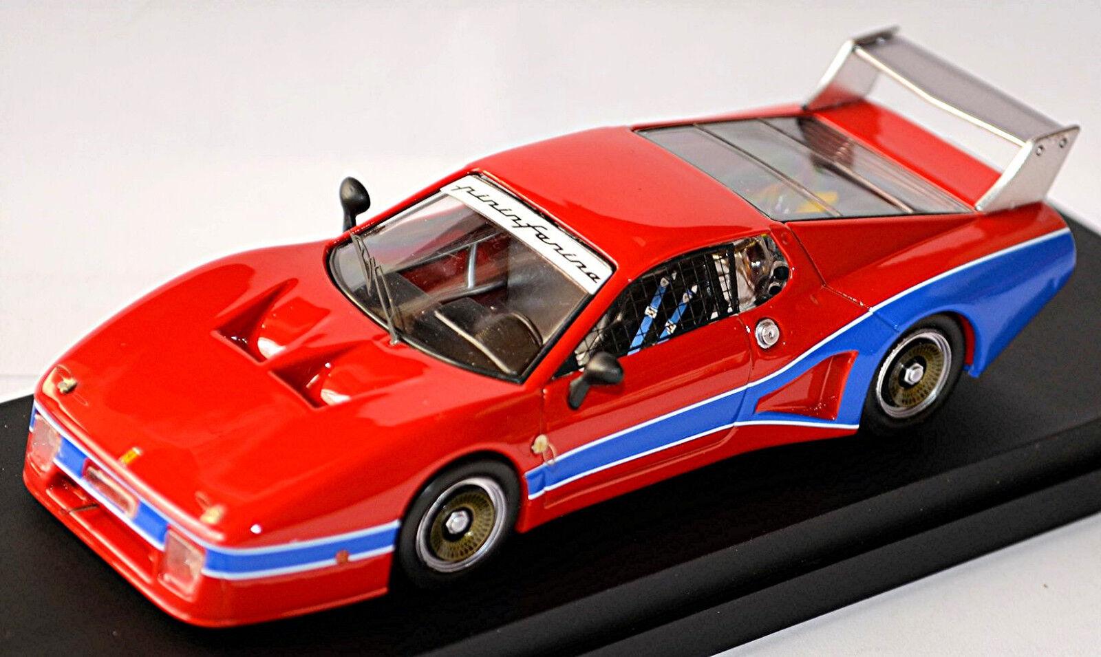 FERRARI 512 BB Shilhouette Prova 1978 rosso rosso 1 43 Mejor