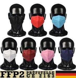 FFP2 Masken 5-20x Mund und Nasenschutz Masken Atemschutzmasken Auswahl Neu