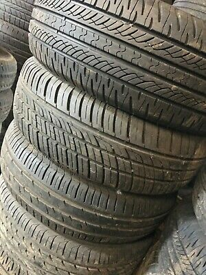 2x 185 65 14 185//65 R14  5MM PART WORN TYRE any brand