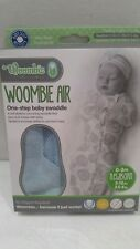 Woombie 0-3m 5-13 Lbs Dream-on Blue Vented Air Original Baby Swaddle Sleep Sack