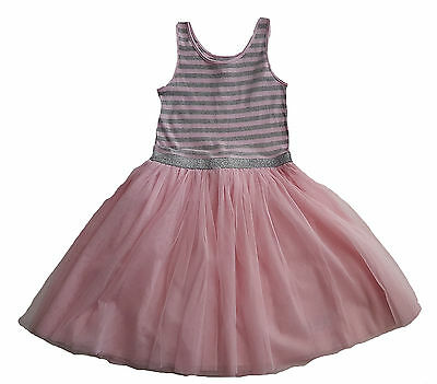 ZARA Girls BLACK GOLD Heart Mesh Party Tunic Dress 3-7y £17.99