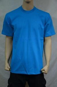 3 NEW PRO5 SUPER HEAVY WEIGHT T-SHIRT TEE PLAIN BLANK COLOR COTTON 3XLT TALL 3PC