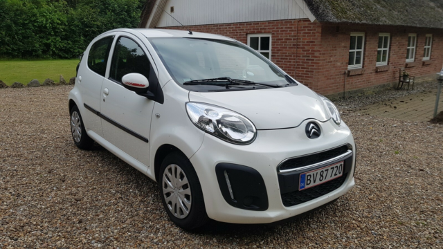 Citroën C1, 1,0i Seduction Clim, Benzin, 2012, km 83600,…