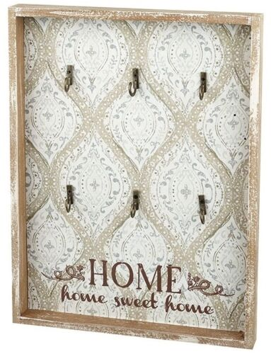 Gorgeous Shabby Chic Style Retro Home Sweet Home Key Hanger Hook Rack
