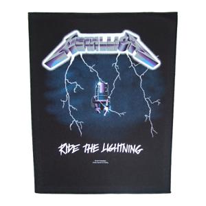 METALLICA-Official-Backpatch-Ride-The-Lightning-Parche-de-Espalda-U-S-THRASH