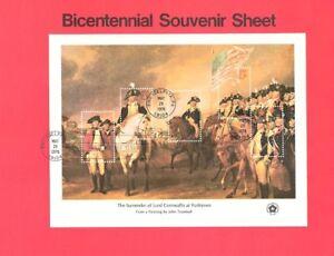 #7615-18 13-31c Bicentennial SS #1686-89 Souvenir Pages