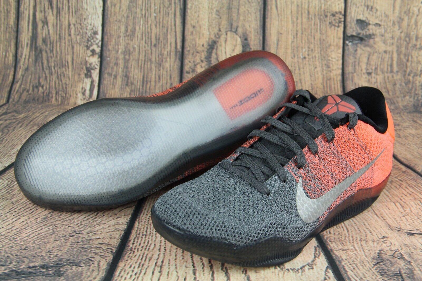 sports shoes e8ee9 39401 ... Nike Kobe XI 11 Elite Low Low Low Easter Dark Grey Bright Mango 822675- 078