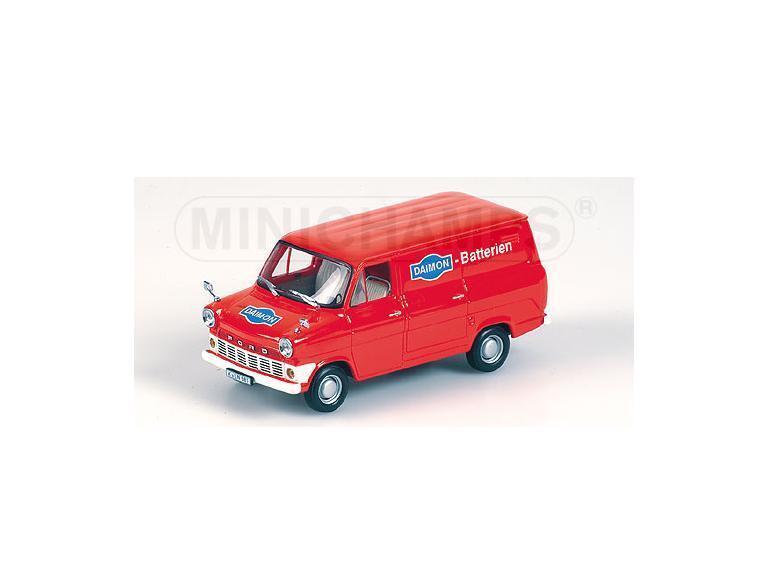 divertiti con uno sconto del 30-50% FORD Transit 1965 Daimon 1965 rosso rosso rosso 400082261 Minichamps 1 43 nuovo   il prezzo più basso