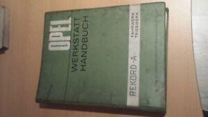 Werkstatt-Handbuch-Rekord-A