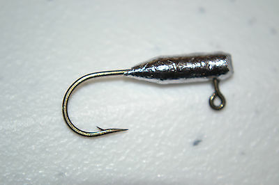 1/32 TUBE / INSERT JIG HEADS #4 BRONZE EAGLE CLAW HOOK 100 CRAPIE BASS WALLEYE