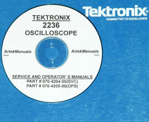 Tektronix 2236 Manual de servicio y las operaciones
