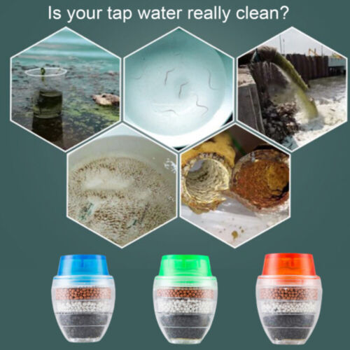 1*Carbon Faucet  Tap Water Clean Filter Purifier for Household Kitchen supplied