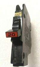 Nc120 Fpe 20 Amp 1 Pole Stab Lok Thin Federal Pacific Breakers Nc20 Red