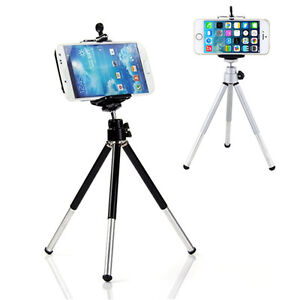 360-Fashion-Rotatable-Stand-Tripod-Mount-Phone-Holder-Bracket-For-iPhone-BDAU