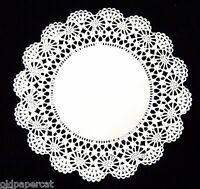 100 - 6 White Cambridge Lace Paper Doilies For Parties Weddings Invitations