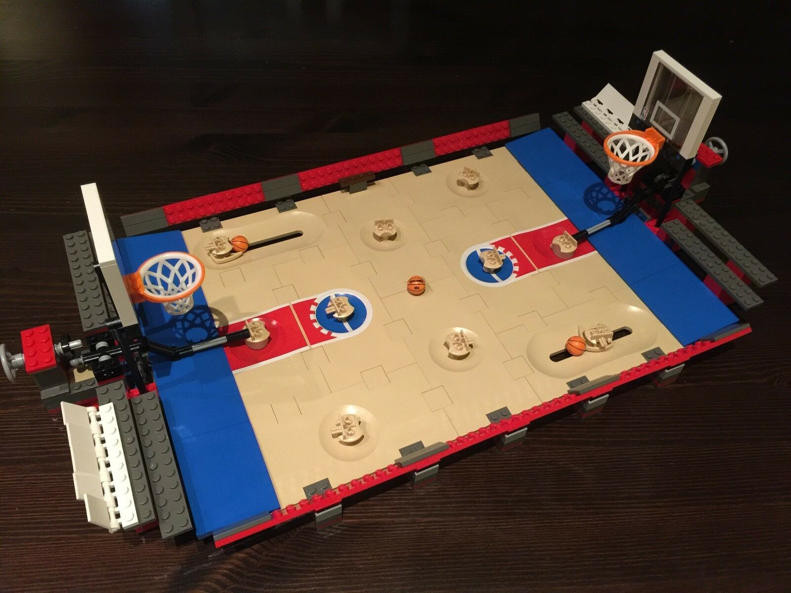 Used  LEGO SPORTS 3432 NBA Chtuttienge Basketbtutti COURT ONLY NO minicifras 2003  salutare
