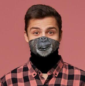 Old Monkey Design Snood Neck Tube Neck Warmer Facemask