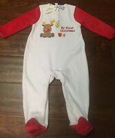 Zip Zap my First Christmas Footie - 9m -nwt