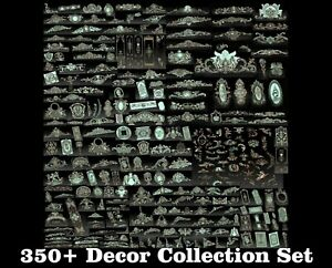 350-Pcs-3D-STL-Models-Decor-Set-CNC-Router-Carving-Machine-Artcam-aspire-Cut3D
