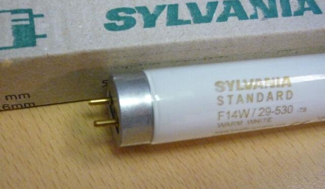 33-640 590mm Ø 26mm G13 cool white kaltweiss Sylvania Leuchtstoffröhre F18W
