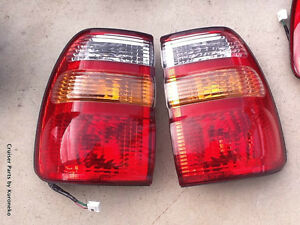 Details about Toyota LandCruiser 100 series OEM TailLights UZJ100 FZJ105  HDJ101