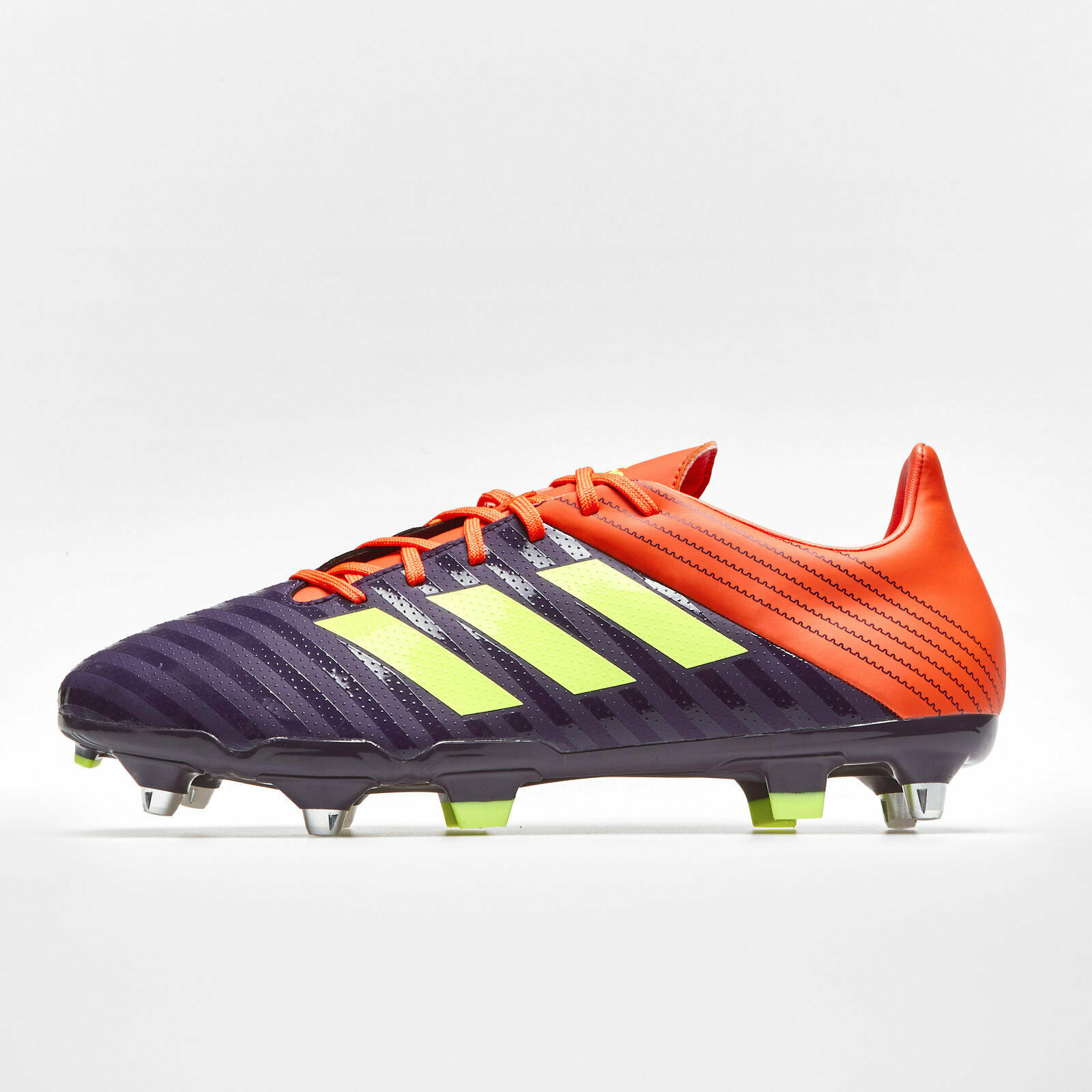 Adidas Mens Malice Soft Ground Rugby Boots Sports shoes Studs Purple