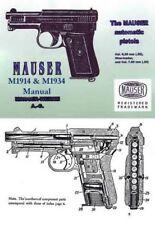 Mauser Model 1914 & 1934 Automatic Pistol Manual