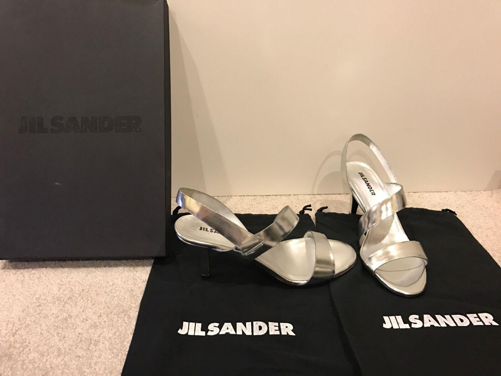 Jil Jil Jil Sander MSRP  390 kvinnor skor Storlek 6  36 Sandals Open Toe klackar  mode galleria