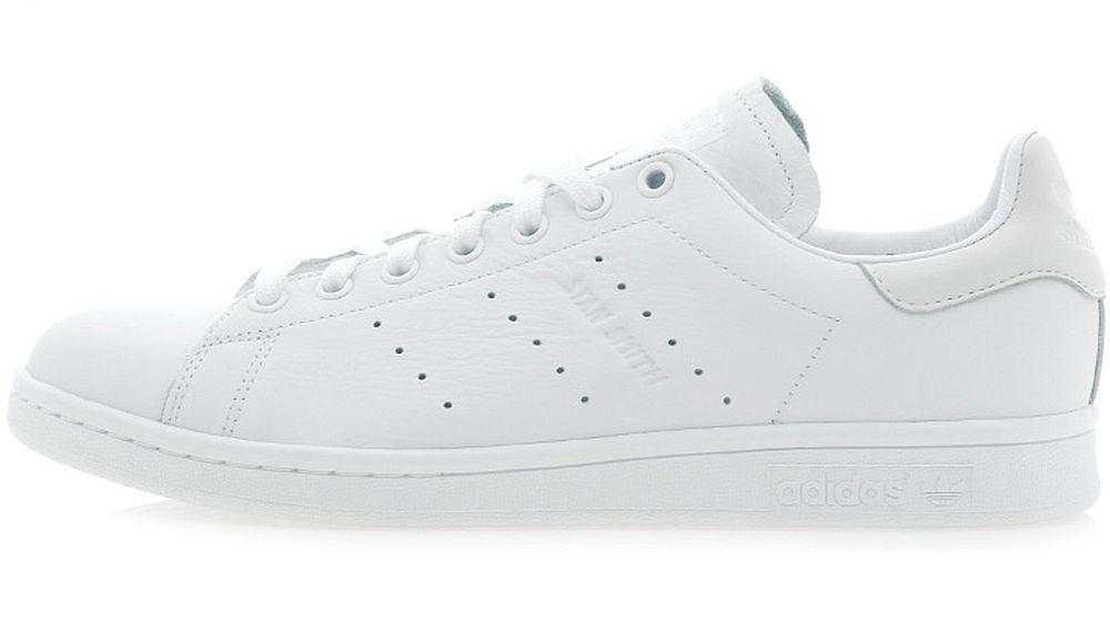 ADIDAS STAN school SMITH Triple White premium leather old school STAN retro sneakers new 86133d