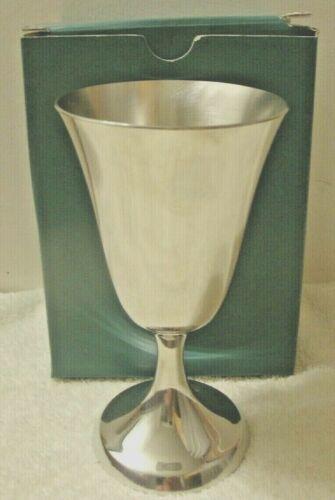 "Lenox Pewter Water Goblet 6-1//2/"" High Kirk Stieff Pewter Goblet P104 Vintage"