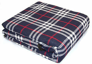 Xl Waterproof Backed Travel Picnic Rug Outdoor Camping 300 X 220cm