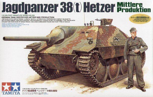 Tamiya 1 35 Jagdpanzer 38(t) Hetzer Mittlere Produktion