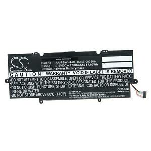 Batterie 7500mAh pour Samsung ATIV BOOK 7 NP730U3E, NP740U3E, NP740U
