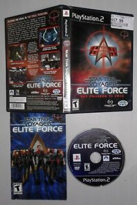 Star Trek: Voyager Elite Force (PlayStation 2) Complete w/ Manual FREE SHIPPING