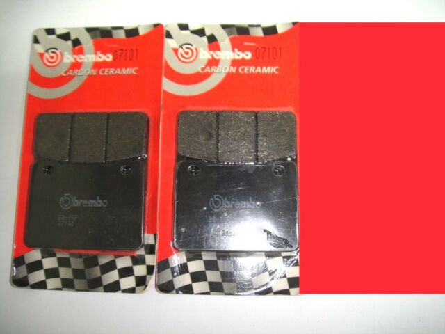 4 Front Brake Pads Brembo Carbon Ceramic 07101 Sym I Maxsym 400 2015