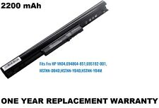4 Cell Laptop Battery for HP Pavilion Sleekbook CTO 14Z-B000, 15Z-B000, 15T-B000