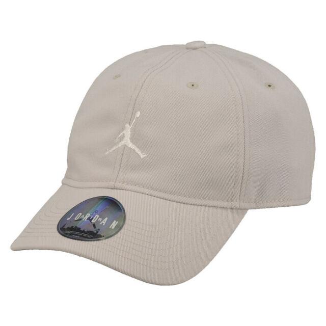 2c64683e0c48ba Mens Nike Air Jordan Jumpman H86 Strapback Cap Hat OS off White ...