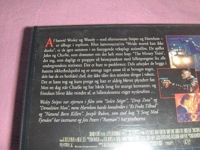 Action, VIDEO (VHS): TO FILM: MONEY TRAIN + DESPERADO