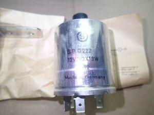 Oldtimer-Blinkrelais-Blinkgeber-SBG-222-12V-3x18W-SBG222-3-x-18W-12-Volt-KS-1962