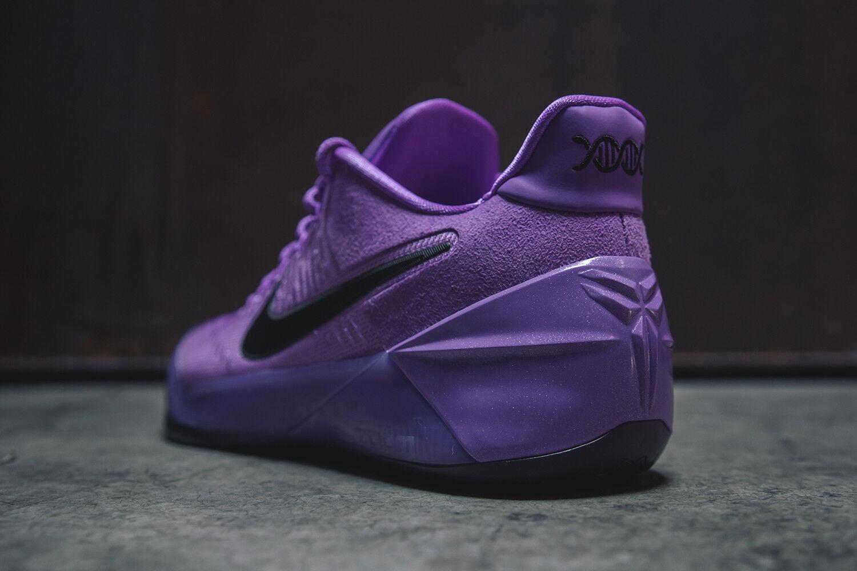 Kobe A.D. Mamba Purple Stardust Black Basketball Shoes 852425-500 Sz 10.5