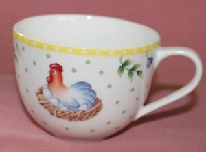Villeroy Boch V&B Spring Awakenig Kaffeetasse H 6,5 cm Ø 8,5 cm Tasse neuw 52283