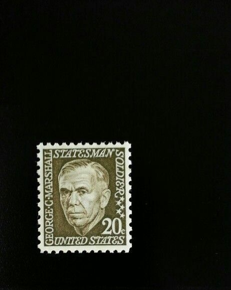 1967 20c George C. Marshall, American Soldier Scott 128