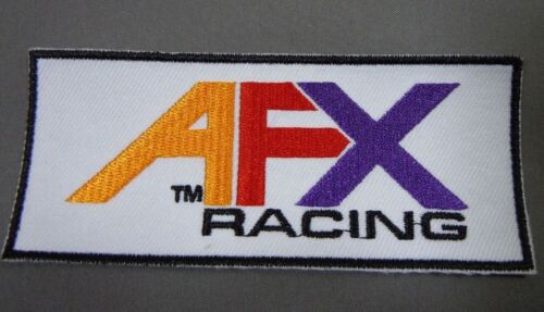 """AFX RACING Iron On Embroidered Shirt-Jacket-Gear Bag Patch 4 1//2/"""" *Exclusive*"""
