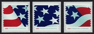 #4961-4963 Stars Y Rayas, Individuales, Nuevo Cualquier 5=