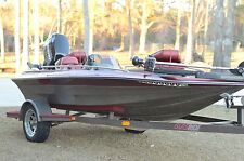 GLASSTREAM 140 Stinger Fish Ski Bass Boat 2006 MERCURY 40 HP 4-stroke