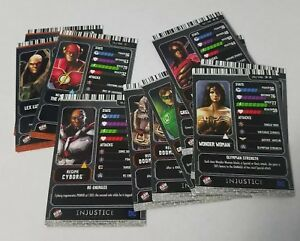 NEW-Injustice-Dave-amp-Buster-039-s-card-Pick-one-Card-see-description